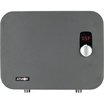 18kw 240v electric tankless water heater 3 7 gpm 75 amps thermopro series with digital thermostatic control