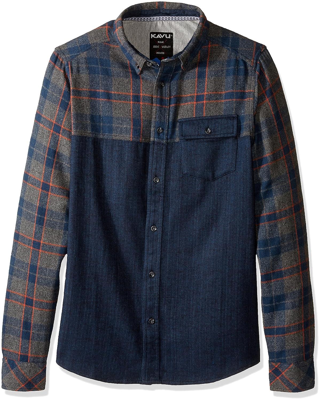 KAVU Herren South Fork Button-Down Shirt