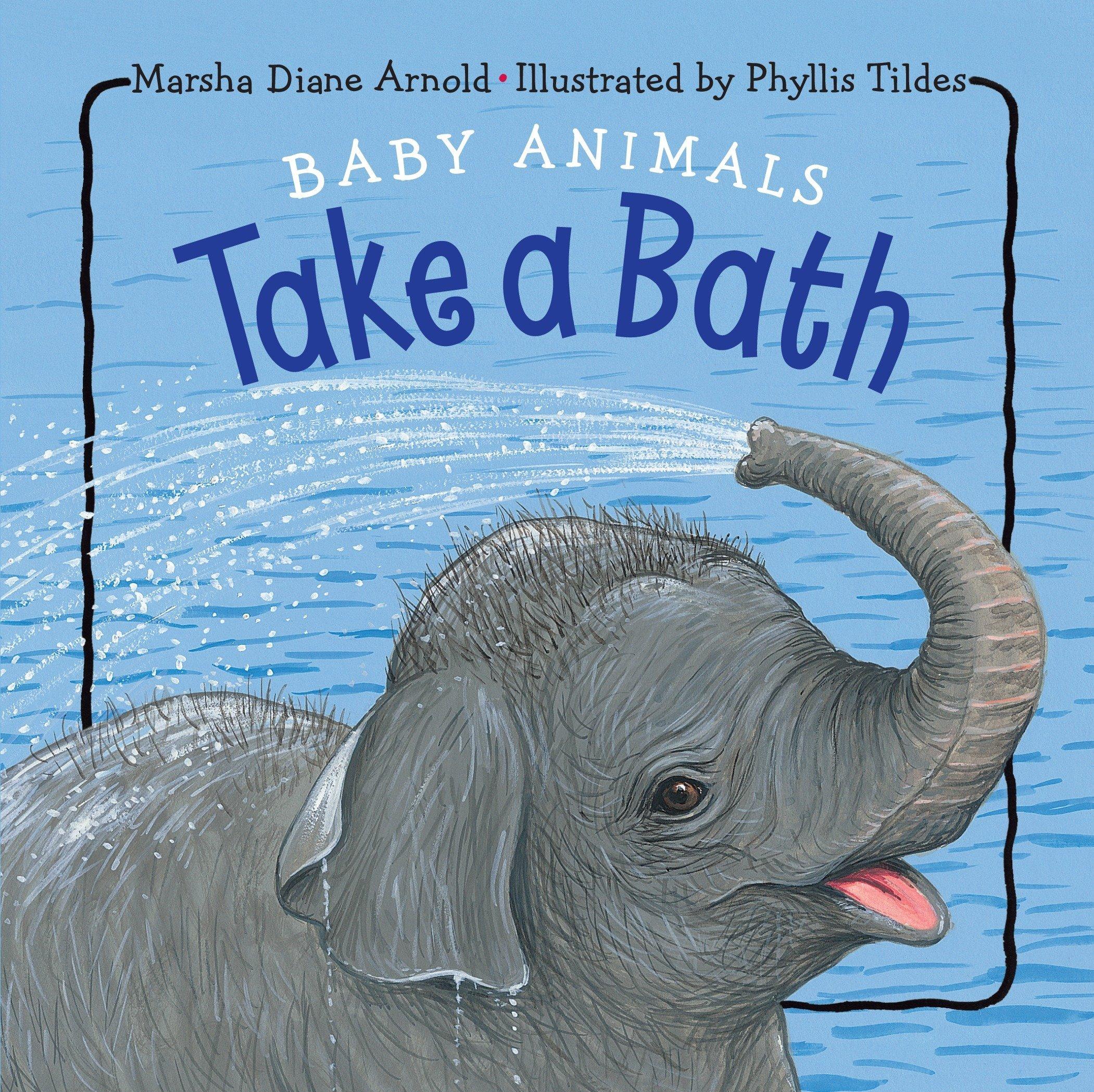 Baby Animals Take a Bath ebook