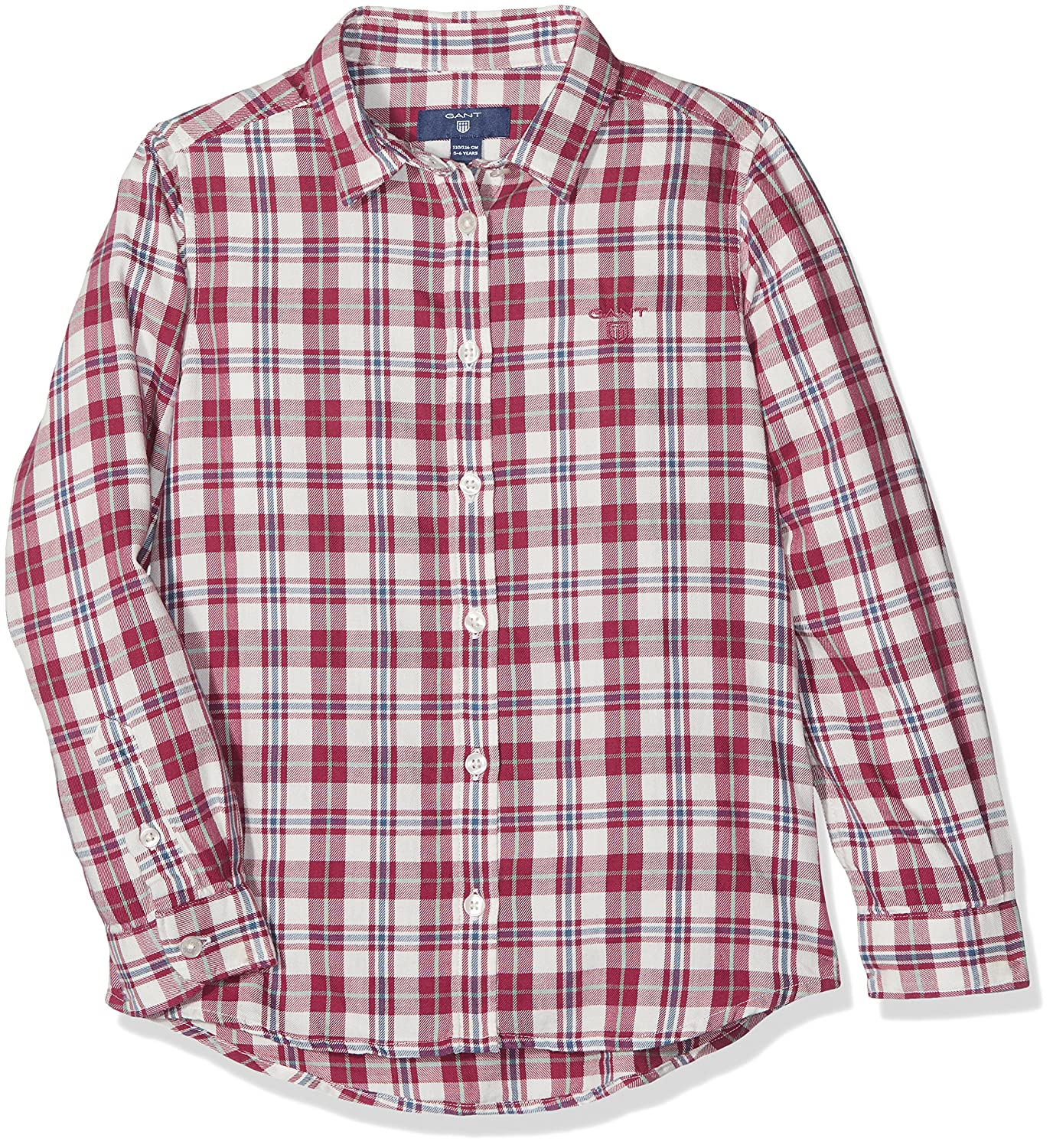 Gant Girl's Check Flannel Shirt Blouse 630348