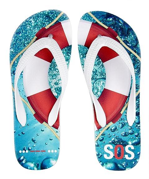 Regalo para Flotador/Cruz Fahrt Salvavidas SOS – Agua – Zapatos de Deporte palupas