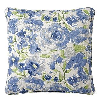 Amazon.com: Acuarela floral Toss almohada con inserto de ...