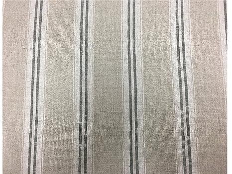 New York Stripe Cotton  Curtain//Craft Fabric