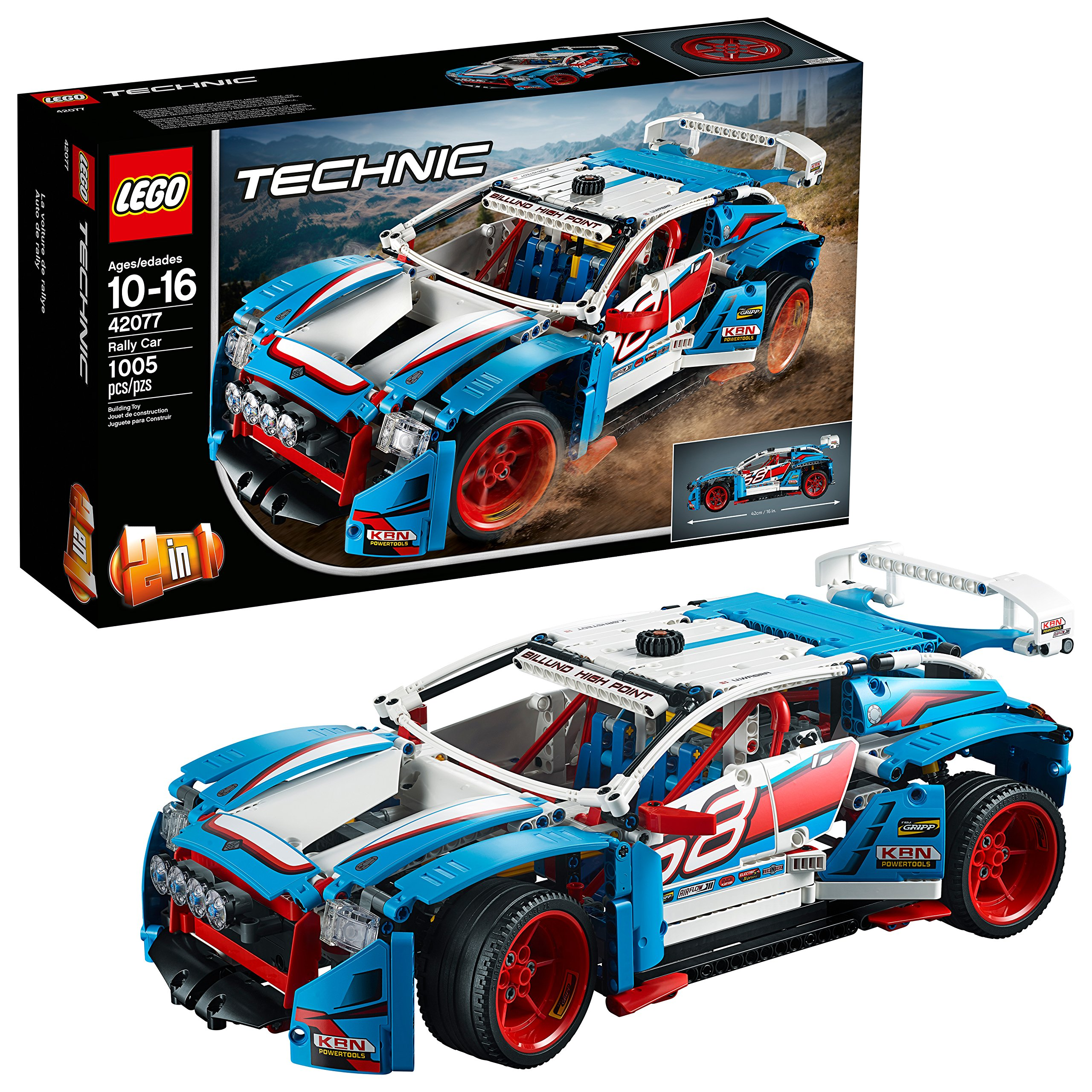 LEGO Technic Rally Car 42077 Building Kit (1005 Piece)