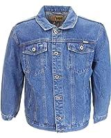 Duke Mens Blue Denim Jacket small