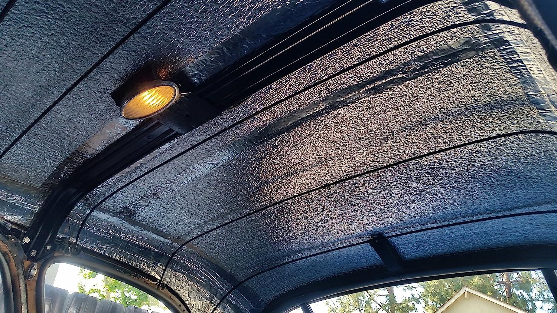 Sound Deadener /& Heat Barrier Mat 4 x 25 Roll Automotive Lightweight Thermal Insulation Car Insulation 100 Sqft