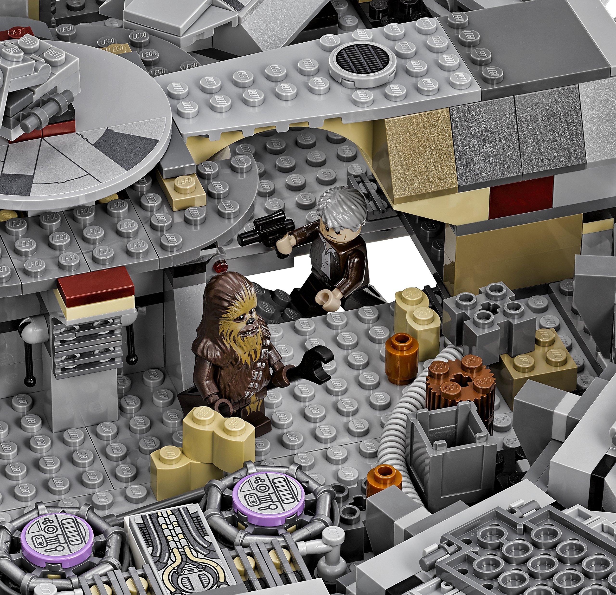 LEGO Star Wars Millennium Falcon 75105 Star Wars Toy by LEGO (Image #7)