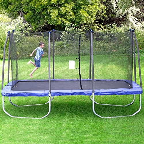 Skywalker-Trampolines-15-Foot-Rectangle-Trampoline with-Enclosure
