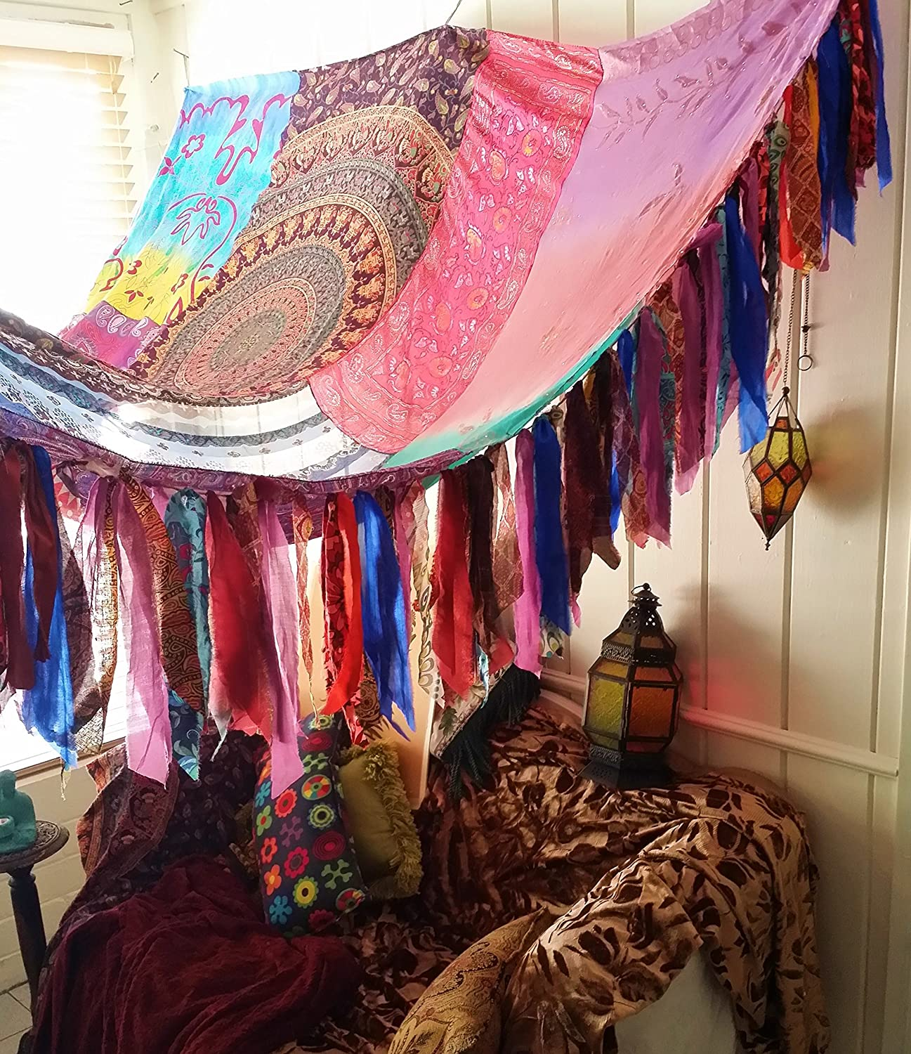 Amazon Com In Stock Ships Same Day You Pay Boho Bed Canopy Hippie Hippiewild Bohemian Hippy & In Stock Ships Same Day You Pay Boho Bed Canopy Hippie