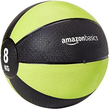 AmazonBasics - Balón medicinal, 8 kg: Amazon.es: Deportes y aire libre