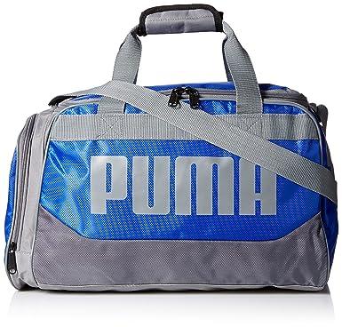 f7217a090e30 PUMA Mens PV1456-RED Puma Men s Transformation Duffel Sports Duffel Bags -  Blue - OS