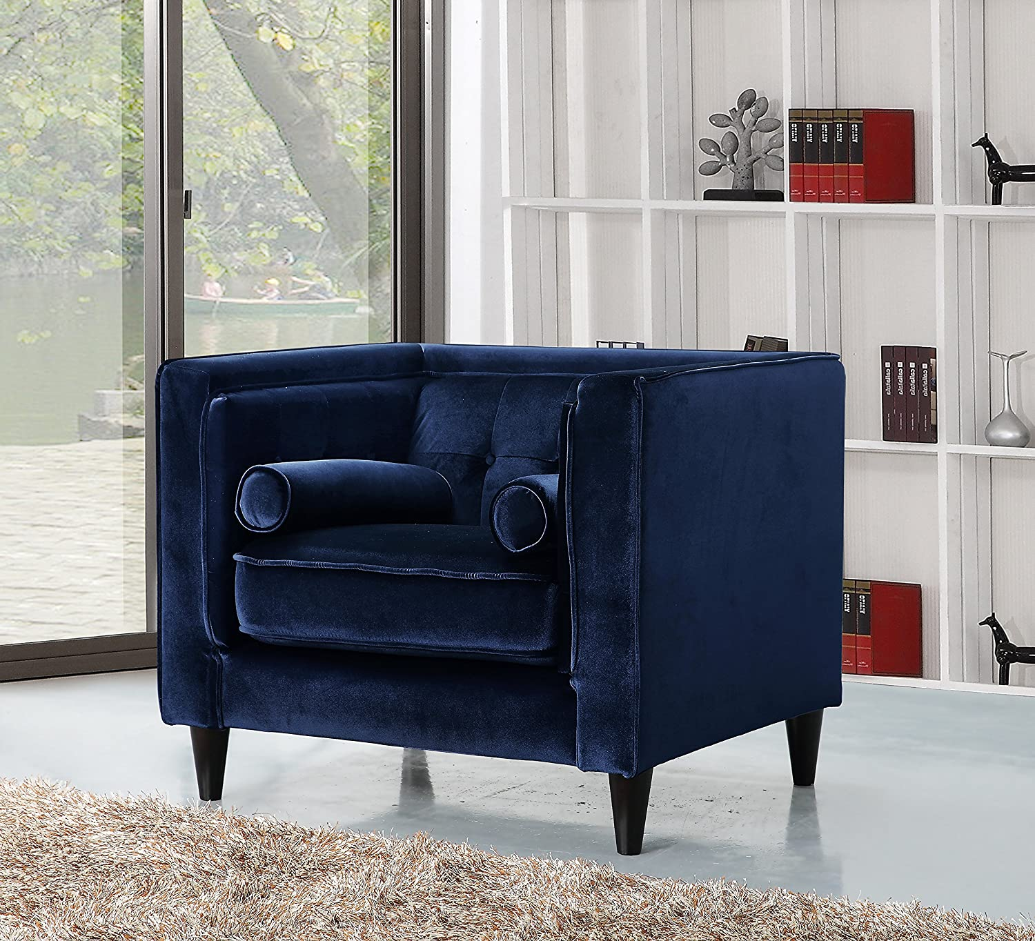 Muebles Taor Sl - Amazon Com Meridian Furniture 642gry C Taylor Button Tufted [mjhdah]https://images-na.ssl-images-amazon.com/images/I/716ZS07l50L._SL1500_.jpg