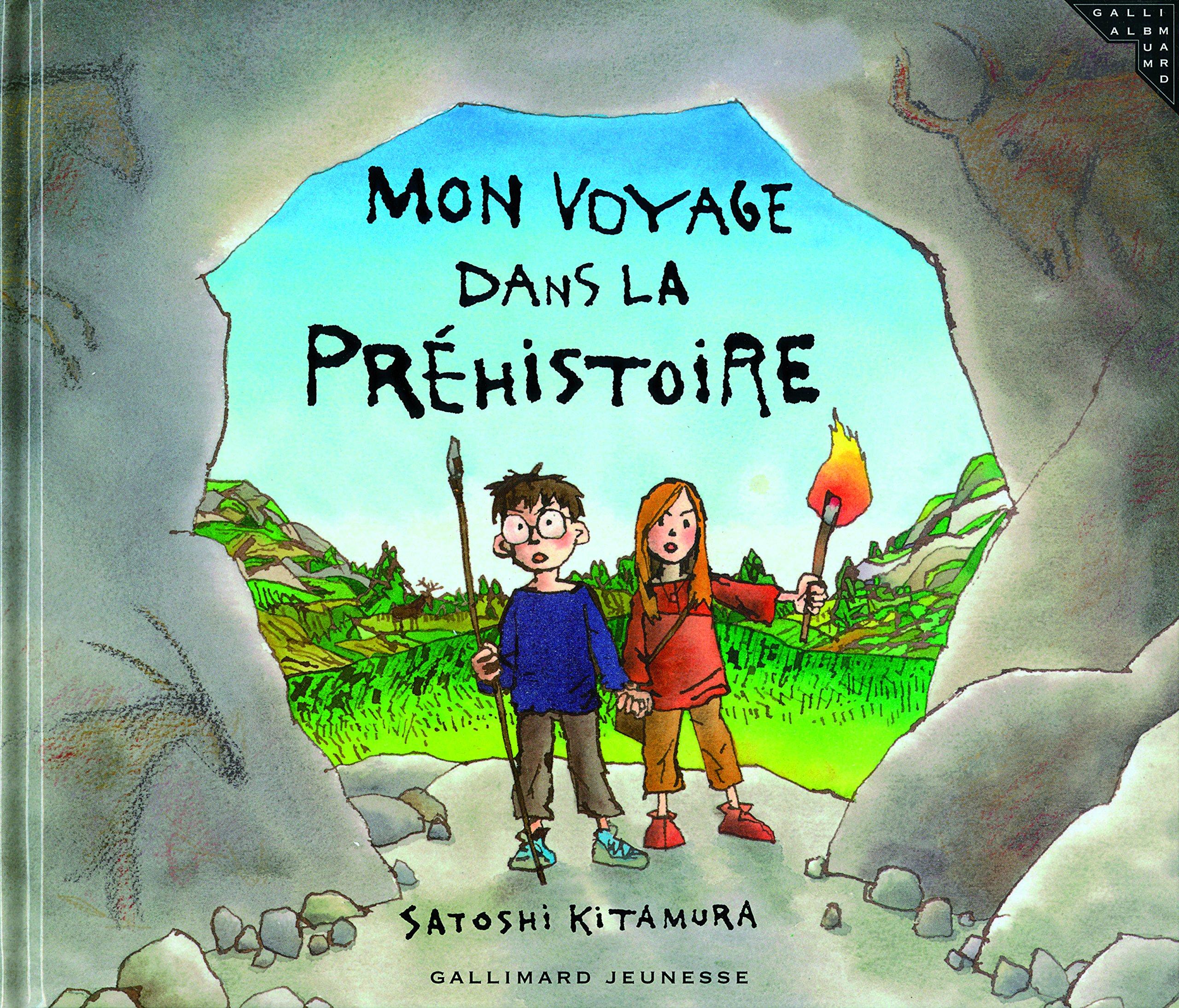 Mon Voyage Dans La Prehistoire Satoshi Kitamura