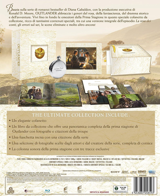 Outlander Season 1 Ultimate Edition 5 Blu Ray Box Set