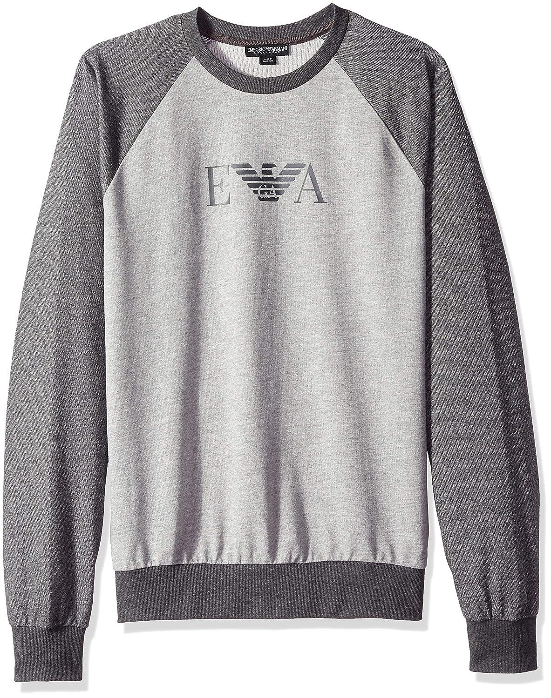 Armani Herren leichte Lounge-Sweatshirt Grau