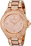 Michael Kors Women's Camille MK5862 Rose-Gold Stainless-Steel Quartz Watch with Rose-Gold Dial