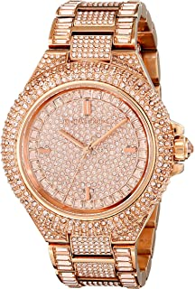 1dd2e659d0c8 Amazon.com  Michael Kors Women s  Slim Runway  Japanese Quartz ...