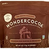 Wondercocoa Pure Cocoa Powder 6 Ounce Pouch (Pack of 2)