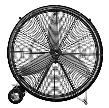 Amazon com Lakewood 36 Inch Industrial Grade Drum Fan Home Kitchen: Lakewood Electric Fan Wiring Diagram at e-platina.org