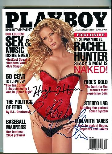 Rachel hunter playboy