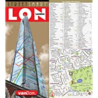 Amazon best sellers best england travel guides streetsmart london map by vandam city street map of london england laminated folding fandeluxe Image collections