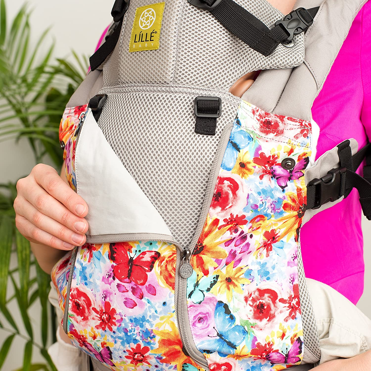 360/° Ergonomic Baby /& Child Carrier by LILLEbaby The COMPLETE All Seasons Black SIX-Position
