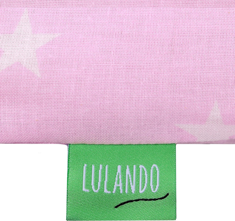 75 x 80 cm LULANDO Matelas /à langer avec 2 housses de amovible et imperm/éable