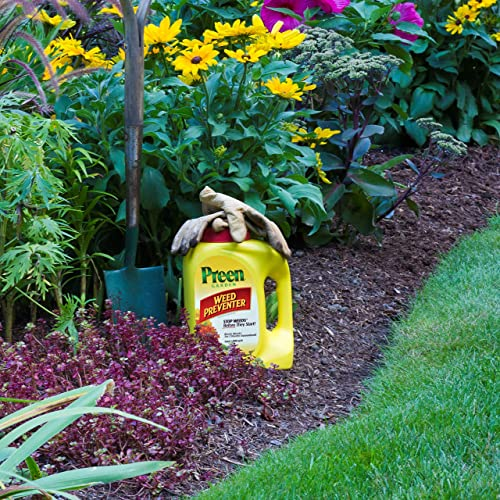Using herbicides to kill weeds