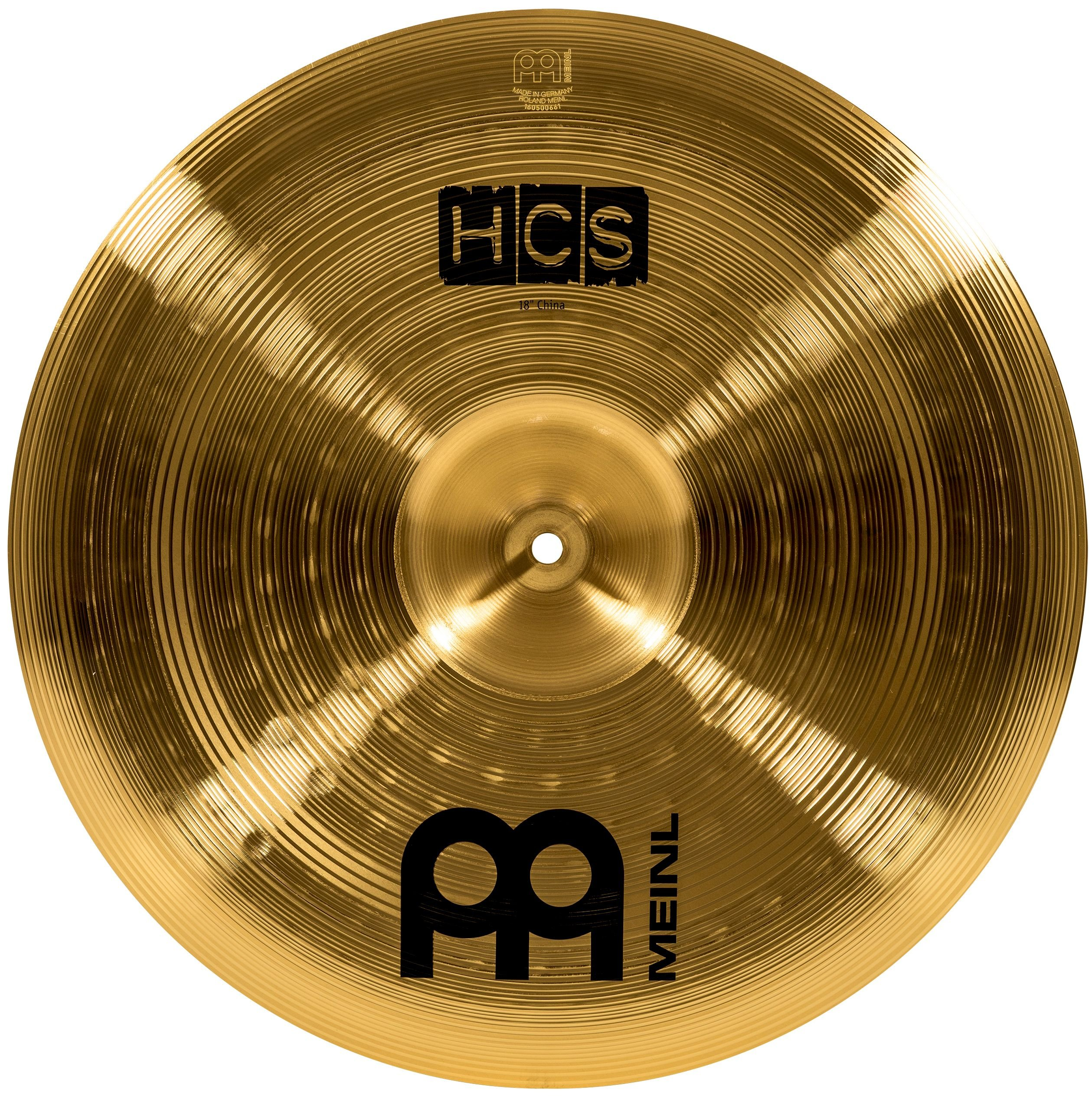 Meinl 18'' China Cymbal - HCS Traditional Finish Brass for Drum Set, Made In Germany, 2-YEAR WARRANTY (HCS18CH) by Meinl Percussion