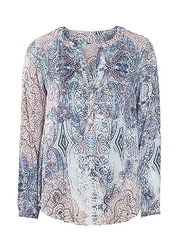 Soyaconcept Saina 2 Blusa Para Mujer, Color Marino, Talla M
