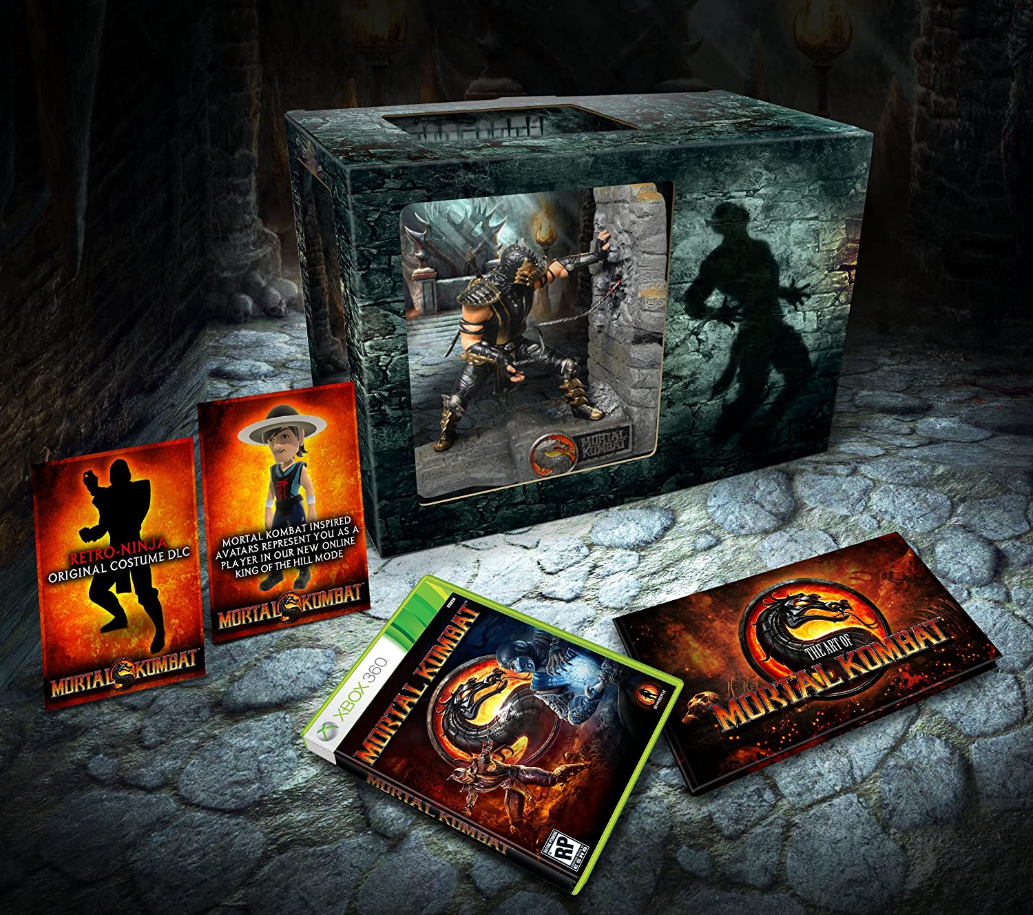 Amazon Com Mortal Kombat Kollector S Edition Xbox 360 Mortal