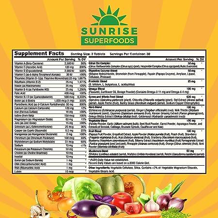 Amazon.com: Multivitamina Plus - Multivitaminas de alimentos ...