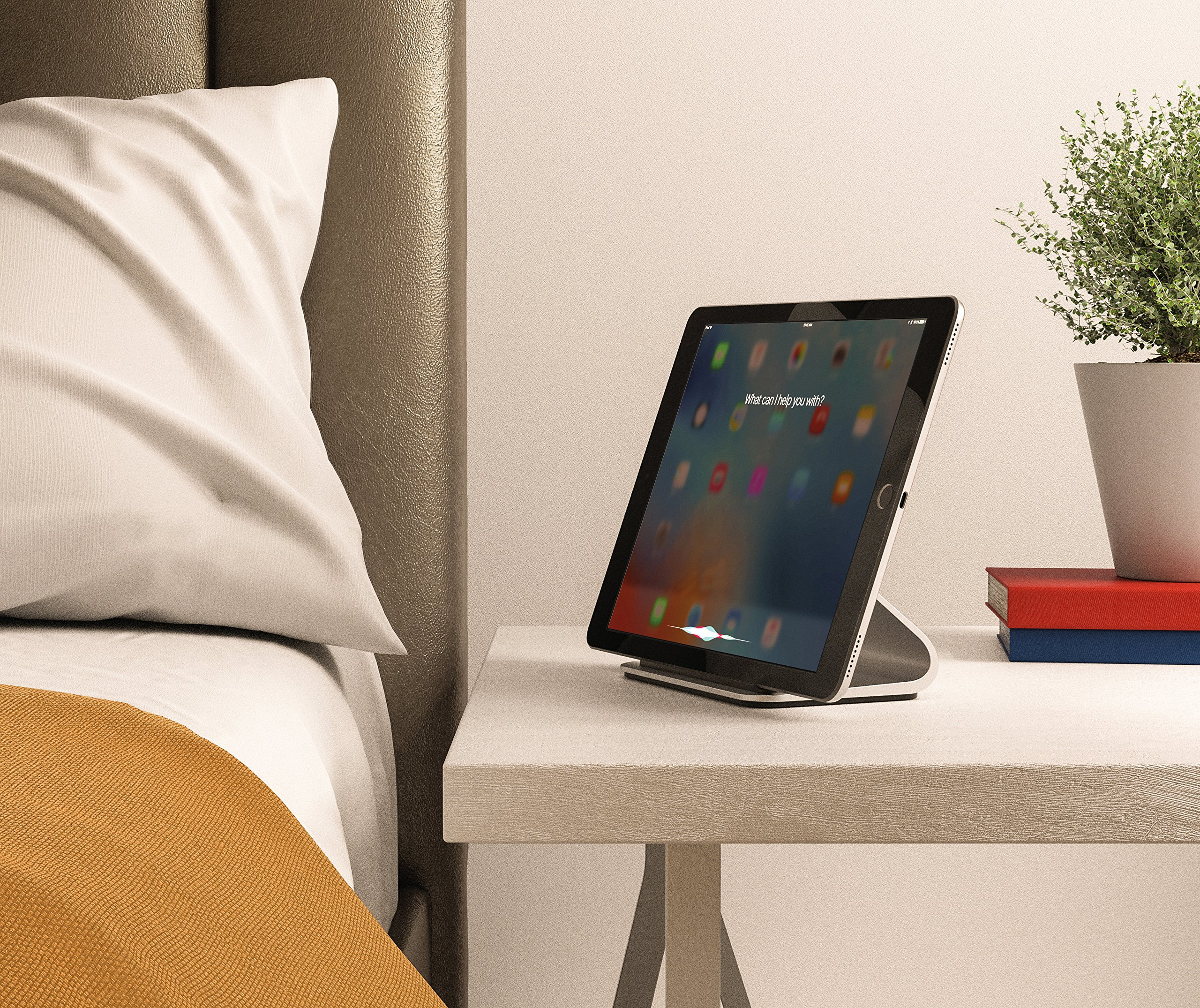 """Logitech Base Charging Stand – for 12"""" and 9.7"""" iPad Pro – Premium Aluminum Construction – Smart Connector Technology by Logitech (Image #8)"""