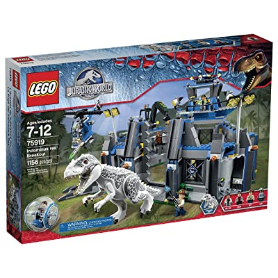 Lego Jurassic World Indominus Rex Breakout 75919 Building Kit: Toys & Games