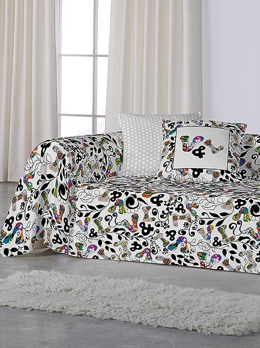 LV V&L Sueños Foulard Para Sofa Logomanía Multicolor 240X260 ...