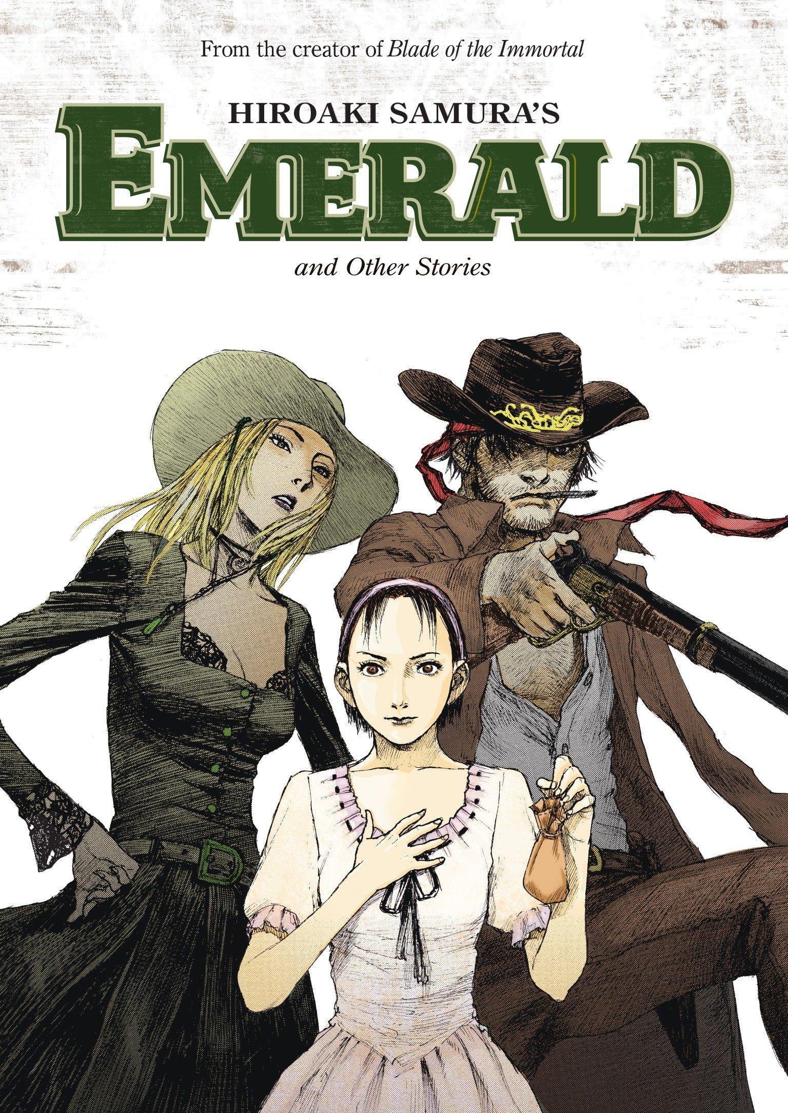 Hiroaki Samura's Emerald and Other Stories, Samura, Hiroaki