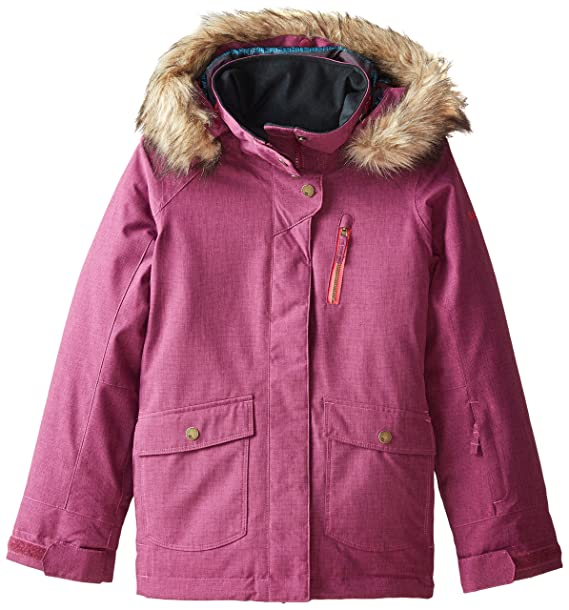 Amazon.com: Roxy Big Girls Tribe chamarra de nieve: Clothing