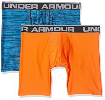 Under Armour Original 6In 2 Pack Novlty Ropa Interior, Hombre, Azul, S