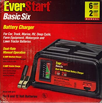everstart battery charger wiring diagram everstart amazon com everstart wm 82 6 basic six battery charger automotive on everstart battery charger wiring