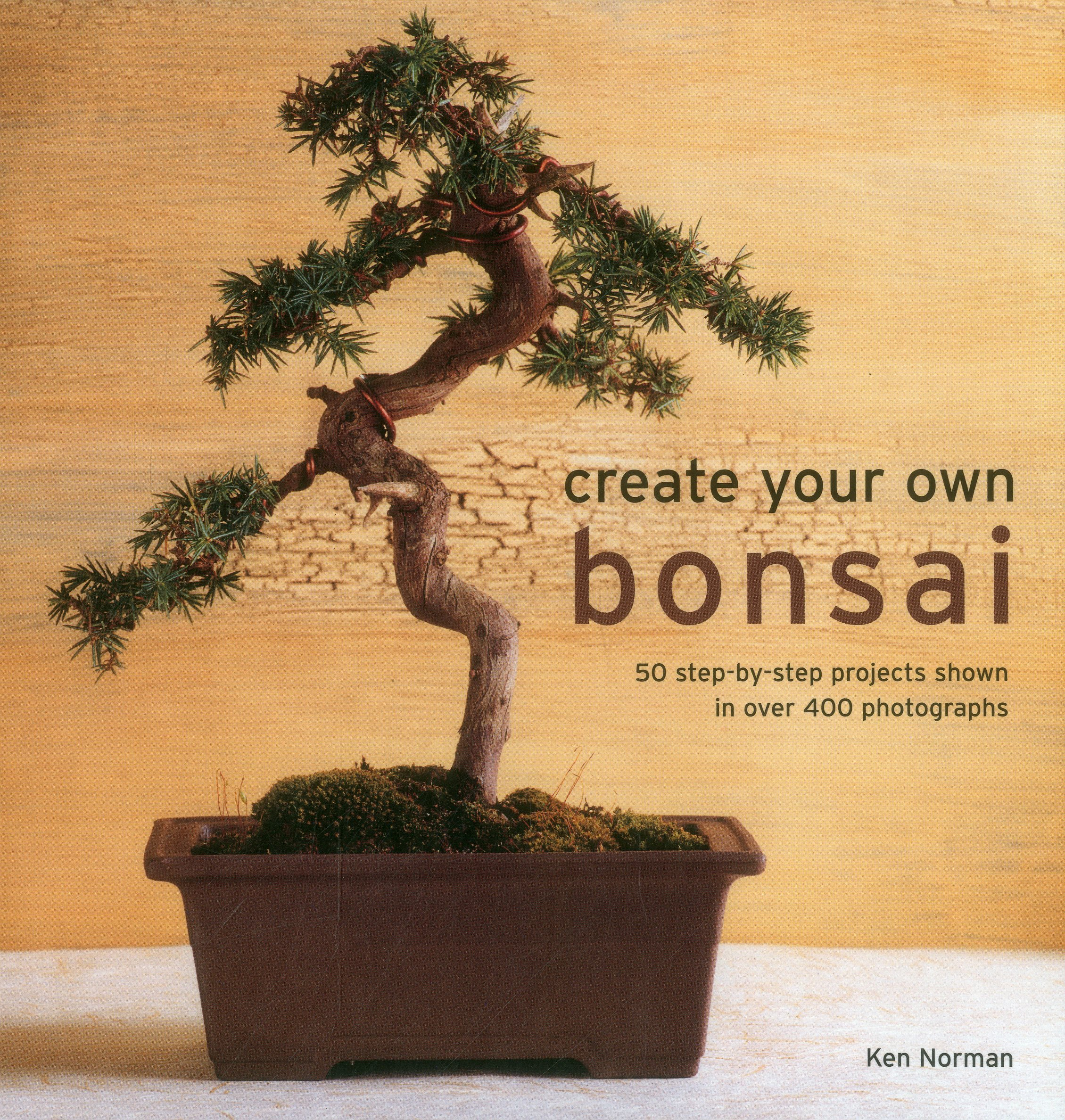 Create Your Own Bonsai: 50 Step-By-Step Projects Shown In Over 400 Photographs