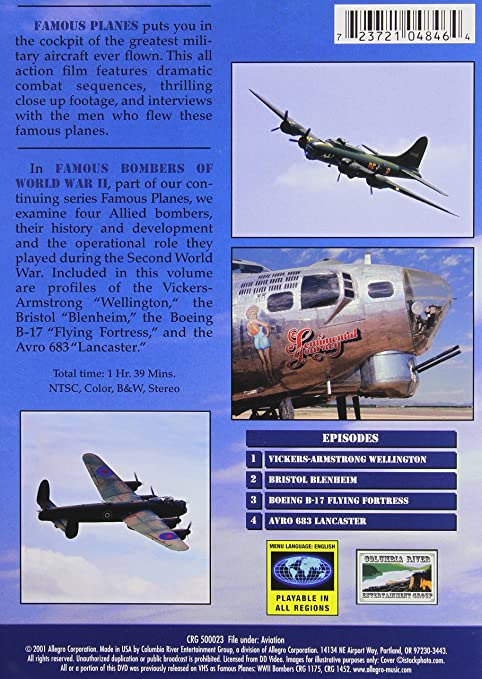 Amazon in: Buy FAMOUS BOMBERS OF WWII:VOL 2 DVD, Blu-ray