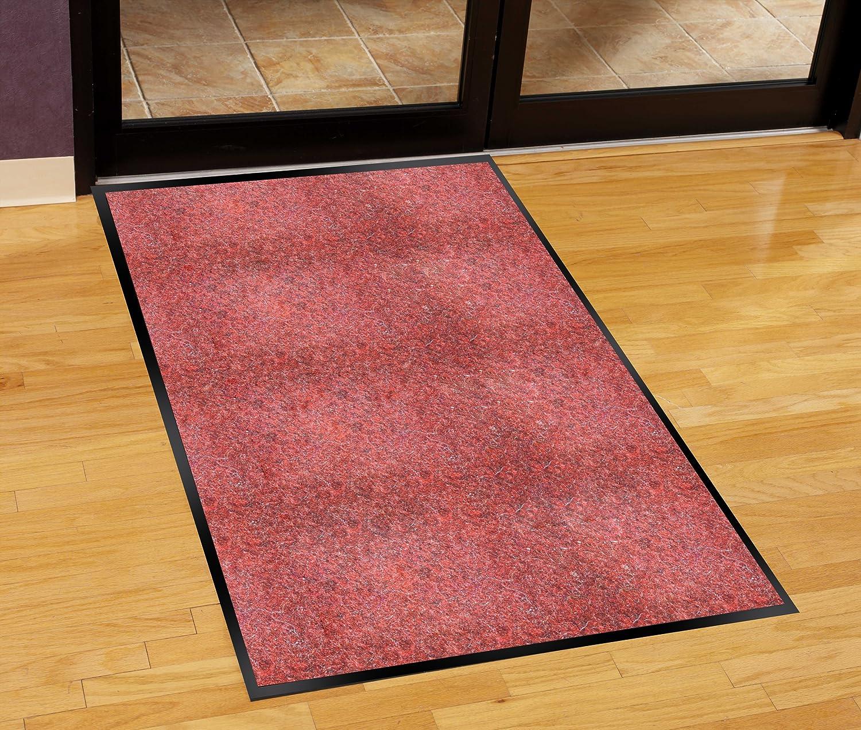 Guardian Silver Series Indoor Walk-Off Floor Mat Vinyl//Polypropylene Sable 3x6