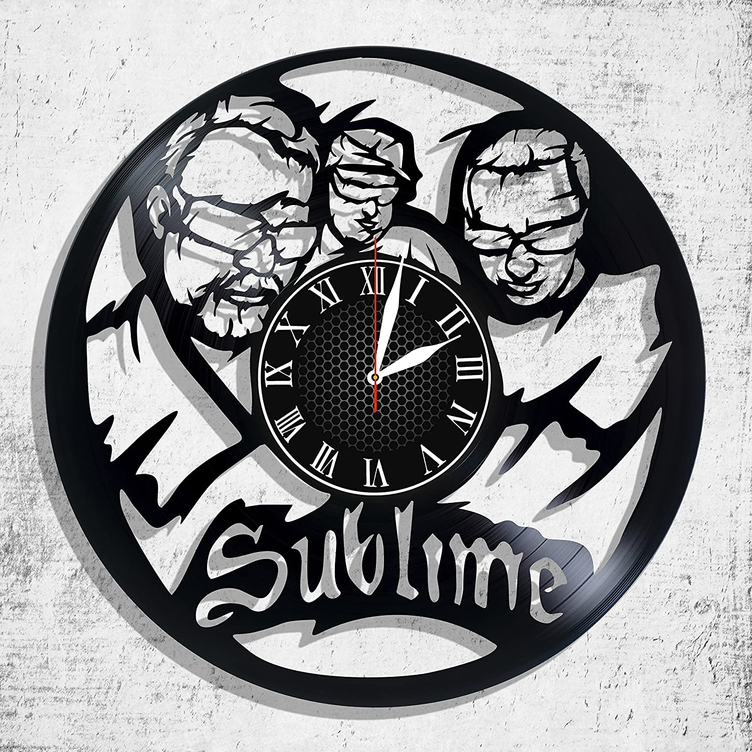 Amazon com: Sublime rock band design wall clock, Sublime wall poster
