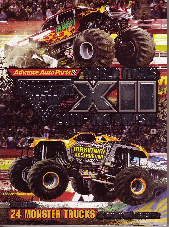 Amazon.com: Monster Jam World Finals 12 - 2011 2 DVD Set ...
