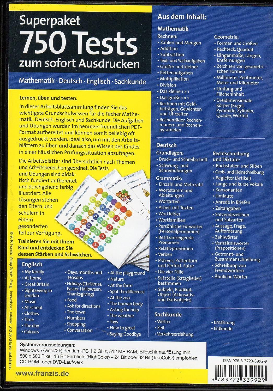Arbeitsblätter Grundschule Schuljahr 2010 - 2011 - 1. bis 4. Klasse ...