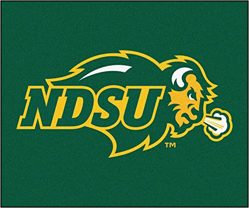 FANMATS NCAA North Dakota State University Bison Nylon Face Tailgater Rug