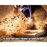 Softball Motivational Poster Art Print Youth Shoes Gloves Classroom Girls MVP448