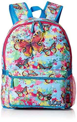 ICU Girls' Butterfly Splatter Backpack, Multi