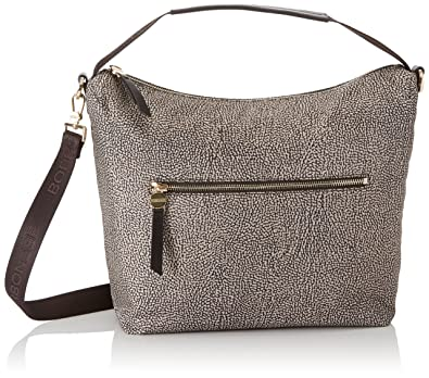 In O pClassico Borsa Hobo Marrone Spalla Small Nylon