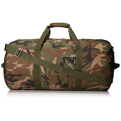 Everest 23-Inch Woodland Camo Duffel, Camouflage, One Size well-wreapped